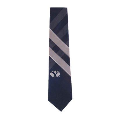 BYU Blue & Gray Grid Tie