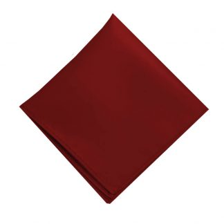 Solid Marsala Pocket Square 7413
