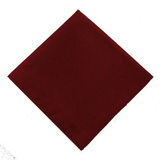 Solid Burgundy Tone on Tone Pocket Square 7415