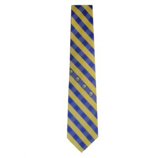 NBA Golden State Warriors Gold & Blue Men's Tie 8065