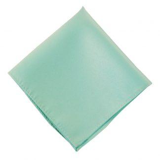 Solid Mint Pocket Square 9409