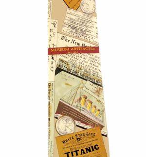 Titanic Silk Men's Tie 9304