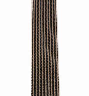 Khaki Black Stripe Knit Skinny