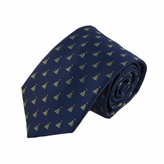 Christmas Trees All Over Men's Tie