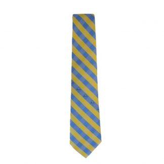 NBA Denver Nuggets Yellow & Light Blue Checker Men's Tie 4330