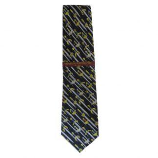Medieval Swords Men's Silk Tie 6746