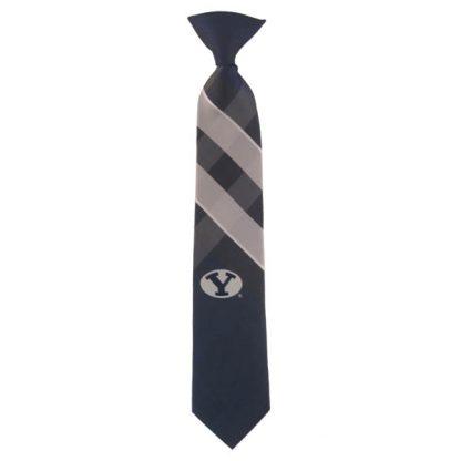 "14"" BYU Cougars Boy's Clip On Tie 1561"