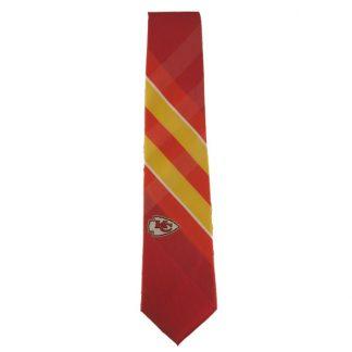 NFL Red & Gold KC Chiefs Men's Tie 8094