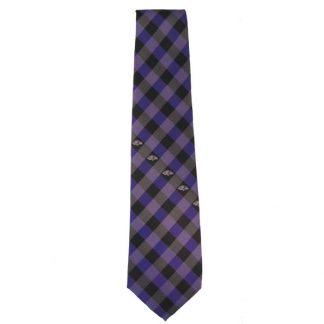 NFL Purple & Black Baltimore Ravens Men's Tie 9766