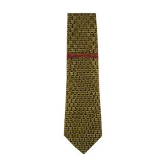 Small Gold Legal Scales Novelty Men's Tie 5071