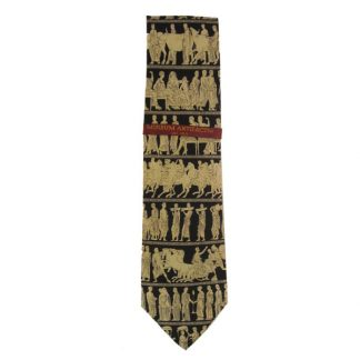 Greek Pantheon Process Silk Men's Tie 5030
