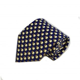 Blue Sheep All Over Men's Tie