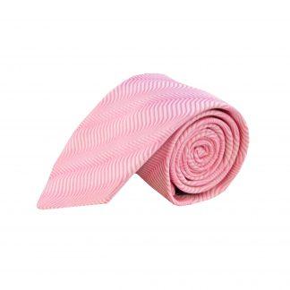 Pink Waves Men's Tie
