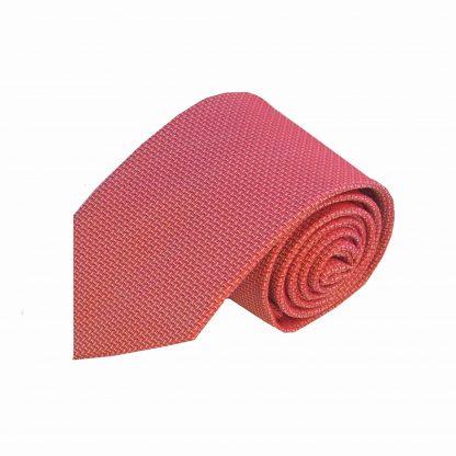 Medium Red Small Tick Men's Tie