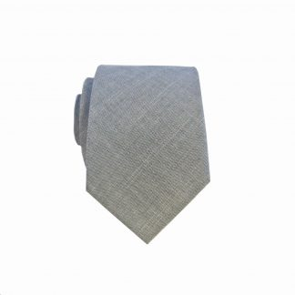 Dark Olive Solid Men's Cotton Skinny Tie