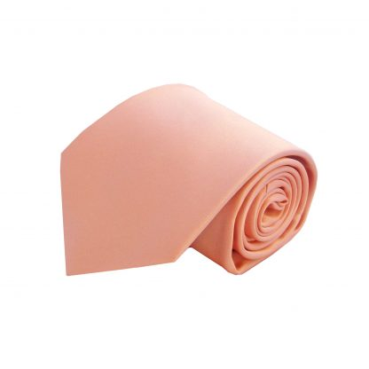 Nude Pink Solid Tie and Pocket Square 7613-0