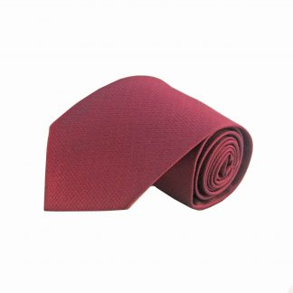 Burgundy Solid Tone on Tone Men's Tie 8704-0
