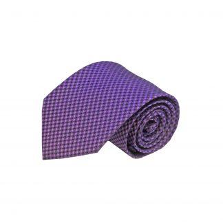 Purple Small Diamond Men's Tie