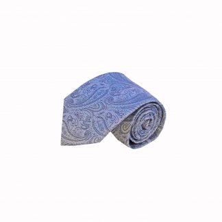Lavender, Gray Paisley Men's Tie, 11435-0