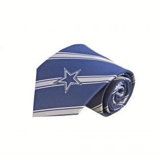 Dallas Cowboys Silk Stripe Men's Tie