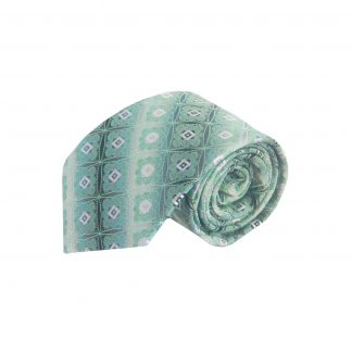 Mint, Gray Medallion Men's Tie 5902-0