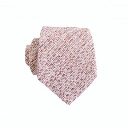 "49"" Boys Self Tie Burgundy, Cream Cotton Tie 8449-0"