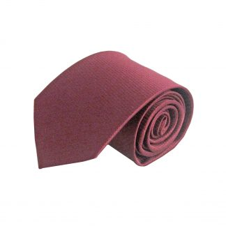 "63"" XL Burgundy Solid Tone on Tone Tie 6106-0"