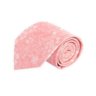 Clementine, Peach Floral Men's Tie 6767-0