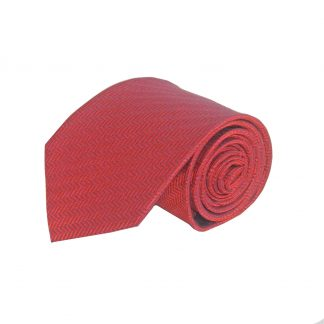 Red, Navy Opposite Stripe Men's Tie 1612-0
