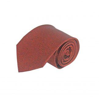 Rust, Black Squiggly Line Men's Tie 8203-0