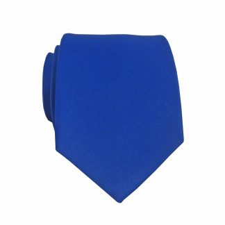 "49"" Boy's Self Tie Royal Solid Tie 3722-0"