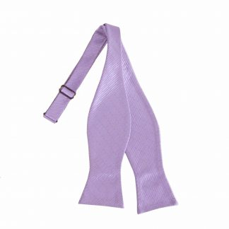 Lavender Tone on Tone Self Tie Bow Tie 10237-0
