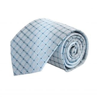 French Blue, Navy Square Pattern w/ Faded Stripe 8860-0