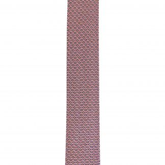 Pink, Black Pattern Knit Men's Tie 6289-0