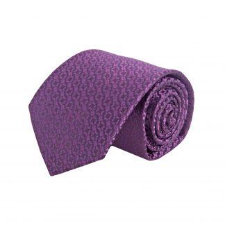 Purple, Small Geometric Men's Tie 9191-0