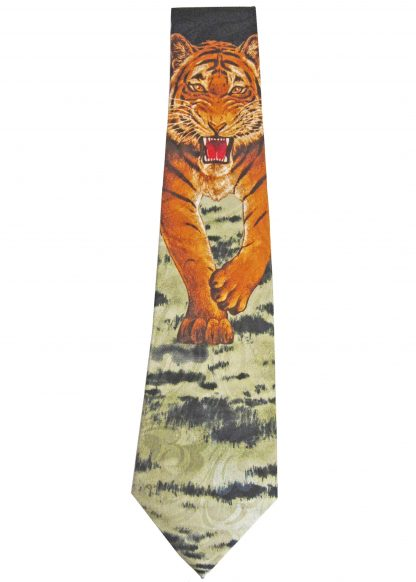 Charging Tiger Men's Tie 7870-0