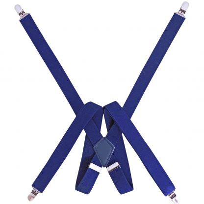 Royal Solid Suspenders 9804-0