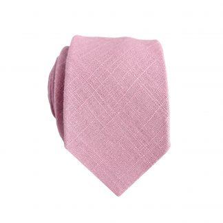 Mauve Textured Solid Skinny Men's Tie 11322-0