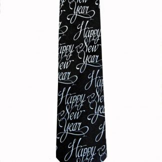 Happy New Year Men's Tie 8479-0