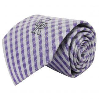 68c24746c65eb MLB Colorado Rockies Criss Cross Men's Tie 1825
